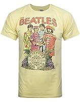 Junk Food Beatles Lonely Hearts Men's T-Shirt
