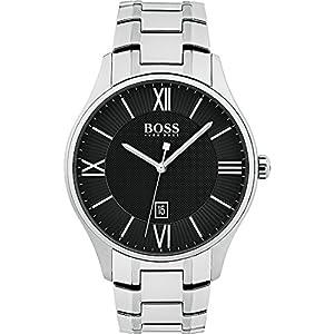 Boss Herren-Uhren Analog Quarz Edelstahl 32001029