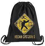 T-Shirt People Negan Crossing Sportbeutel - Bedruckter Beutel - Eine schöne Sport-Tasche Beutel mit Kordeln