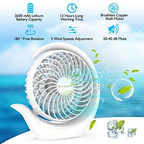 FYLINA USB Ventilator Mini kaufen  Bild 1*
