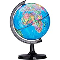 Fliyeong Globe Rotating Globe World Map Educational Toy Table Desk Decor Encourage Inquisitive Children To Explore The World Of Science 1PCS