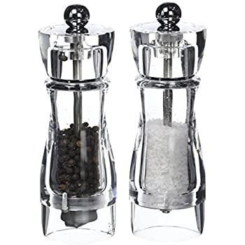peugeot vittel acrylic duo salt and pepper mill 16cm. Black Bedroom Furniture Sets. Home Design Ideas