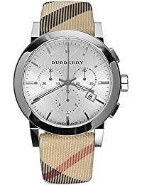Burberry BU9357 - Reloj de pulsera hombre, piel