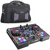 Hercules DJControl Instinct P8 2-Deck DJ-Controller + Zoom SCR16 Trage-Tasche