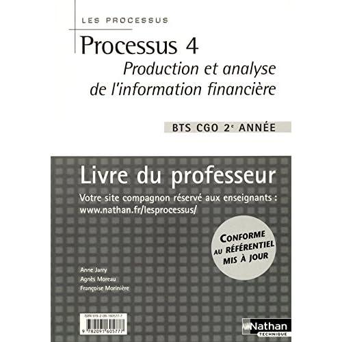 Processus 4 - Livre du professeur