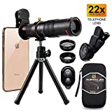 Best Cell Phone Cameras - Cell Phone Camera Lens, Phone Photography Kit, 22X Review