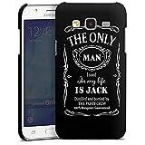 DeinDesign Samsung Galaxy J5 (2015) Hülle Premium Case Cover Alkohol Spruch Whiskey