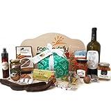Panier-cadeau de Noël «Donnafugata» avec produits typiques siciliens 11