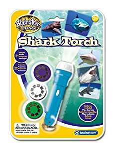 Brainstorm Toys Shark Torch and Projector by Brainstorm