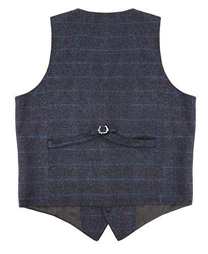 Zicac denim uomo del panciotto della maglia gilet uomo alla moda … Blu