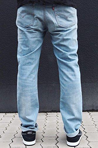 Pantaloni: 511Slim 5Tasca se Waller BL Blue 30W x 30L