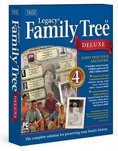 IMSI Legacy Family Tree Deluxe 5 (PC) (Software Family Legacy Tree)