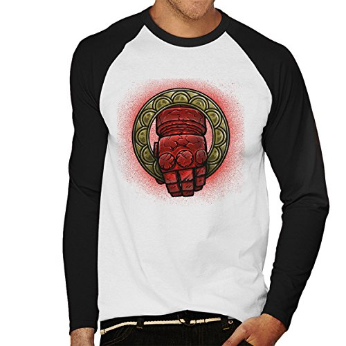 Doom Hand Of The King Hellboy Men's Baseball Long Sleeved T-Shirt