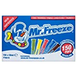 Product Image of Mr. Freeze Pops 5 Flavours Regular 150 x 50ml (Pack of 150...