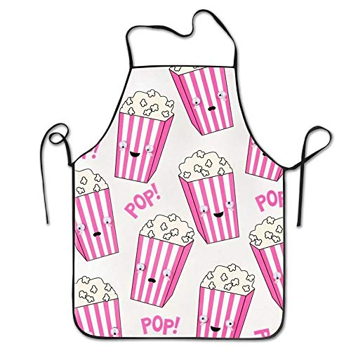 HTETRERW Popcorn Funny Intended for Teens Kitchen Apron One Size Fits Resists Attitude - Funny Teen Kostüm
