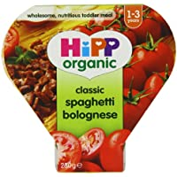 Hipp Organic Classic Spaghetti Bolognese Tray Meal from 12 Months 230 g (Pack of 5) preiswert