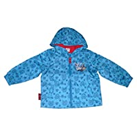DISNEY JAKE & THE NEVERLAND PIRATES Boys Raincoat Jacket Official 1-7 Years Old