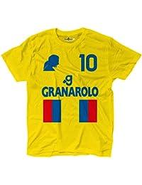 Camiseta camiseta fútbol Vintage Roberto Bologna 10 Baggio Temporada 97 – 98 leggen, KTS01830_S,…