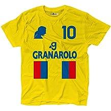 Camiseta camiseta fútbol Vintage Diego Armando Napoli 10Maradona Temporada 87–88, KTS01849_L, Bright Royal,…