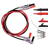 Longruner Instruments Electronic Test Lead Kit Digital Multimeter banana plugs Accessory Kit Automotive Professional CAT III 1000V 15A LP2200