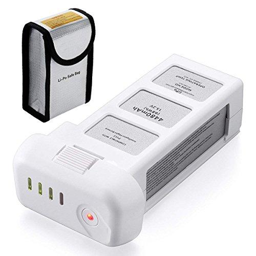 Powerextra Phantom 3 Battery, 15.2V 4480mAh LiPo Intelligent Battery for DJI Phantom 3 Standard Advanced Professional and 4K Drones