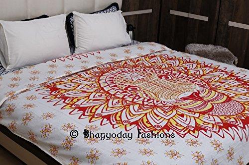 indischen afrikanischen Bettbezug, Mandala, wendbare Doona, Bettbezug, Twin Größe Tagesdecke Decor, Boho Betten Decke Boho
