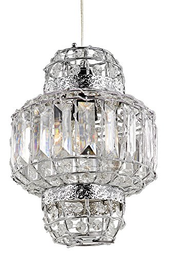 classic-morrocan-lantern-style-polished-chrome-clear-acrylic-easy-fit-pendant-light-shade-by-haysom-