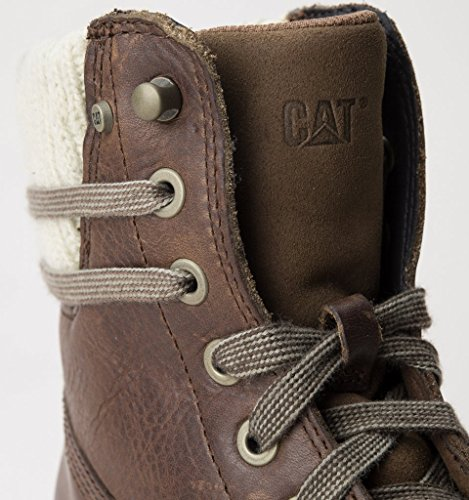 Caterpillar Womens/Ladies Brazy Lace Up Leather Ankle Boots Peanut