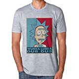 Wubba Lubba Dub Dub Rick And Morty Small Herren T-Shirt