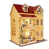 Holz-Bausatz mit Einrichtung & Beleuchtung