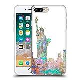 Head Case Designs Officiel Aimee Stewart New York Skyline Paysages Coque en Gel Doux Compatible avec iPhone 7 Plus/iPhone 8 Plus