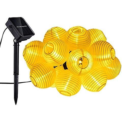Mpow 20 LED Lanterne Stringa Solare, Stringa