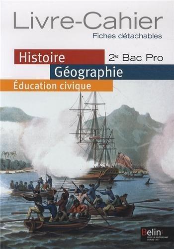 Histoire Géographie éducation civique 2e Bac pro : Programme 2009 petit format de Brigitte Allain-Chevallier (18 juin 2009) Broché