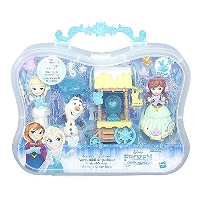 Disney congelado Pequeño Reino escena hielo de patinaje Conjunto de CEFA toys