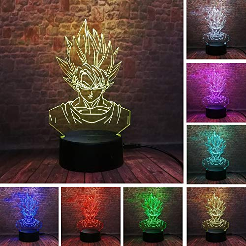Lámpara de ilusión 3D