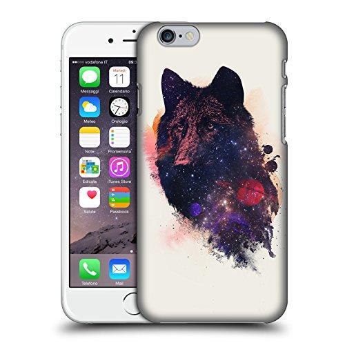 Offizielle Robert Farkas Alleine Wie Ein Wolf Tiere Ruckseite Hülle für Apple iPhone 7 Universelles Wolf