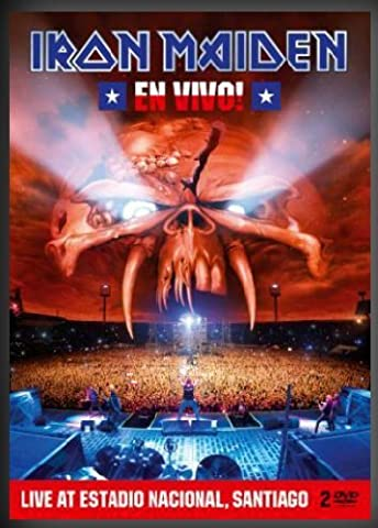 Iron Maiden - En Vivo! Live in Santigo de Chile (2 Discs, Limited Steelbook Edition) (Heavy Metal Box)