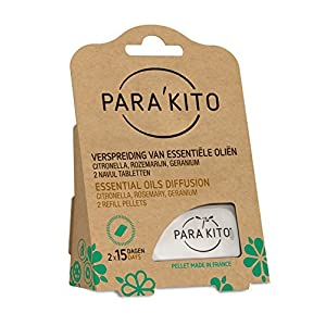 516TzHj78SL. SS300  - Para'Kito Essential Oil Diffusion Mosquito Refill Pellets (for Wristband & clips).