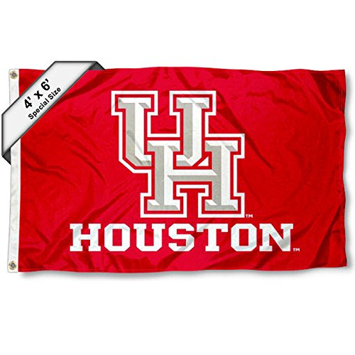 Äh Cougar 4'x6' Flagge Houston Cougars Hat
