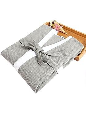 Lechuang Home YX Shop Batas De Baño para Hombres, Albornoces Favorables A La Piel, Cómodo Servicio A Domicilio