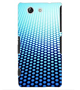 ColourCraft Dots Pattern Design Back Case Cover for SONY XPERIA Z4 MINI / COMPACT