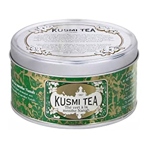 Kusmi Tea - Thé vert à la menthe Nanah