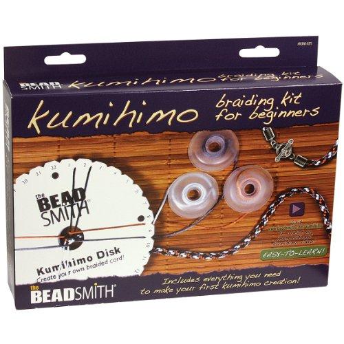 Beadsmith-Metallo Kumihimo Starter Kit