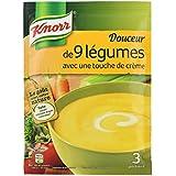 Knorr Douceur de 9 Légumes avec Une Touche de Crème pour 3 Portions 84 g