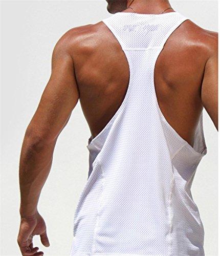 MZ Bodybuilding Herren Weste Mode Druck Formung Weste l (height 175cm)