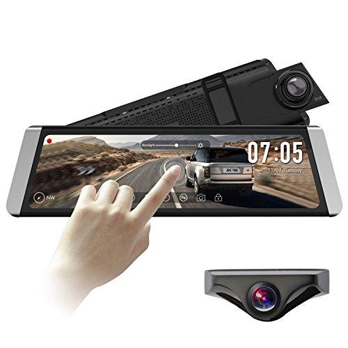 auto vox x1 dashcam spiegel mit ahd backup kamera kit. Black Bedroom Furniture Sets. Home Design Ideas