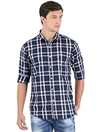 Blue Checks Full Sleeve Casual Shirt