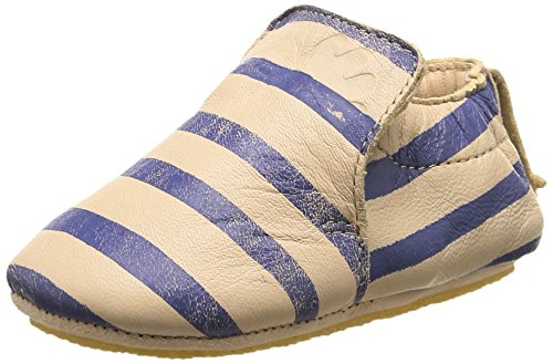 Easy Peasy Blublu Marinier, Chaussures Premiers pas bébé garçon, Beige (607 Peau/Bleu), 24 EU