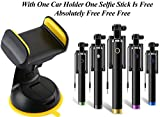 #5: Sonilex Car Holder Or Mobile Stand For All Smartphones In Best Price Light Weight Product (Color May Vary)