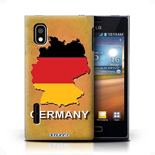 iCHOOSE Print Motif Coque de protection Case / Plastique manchon de telephone Coque pour Apple iPhone 5/5S / Collection Drapeau Pays / Italie/Italien Allemagne/Allemand